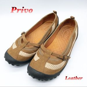 Privy-Leather Mary Jane Ballet Comfort Flat 7